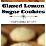 Glazed Lemon Sugar Cookies are perfect for the holidays. Whip up a batch or two this holiday season.