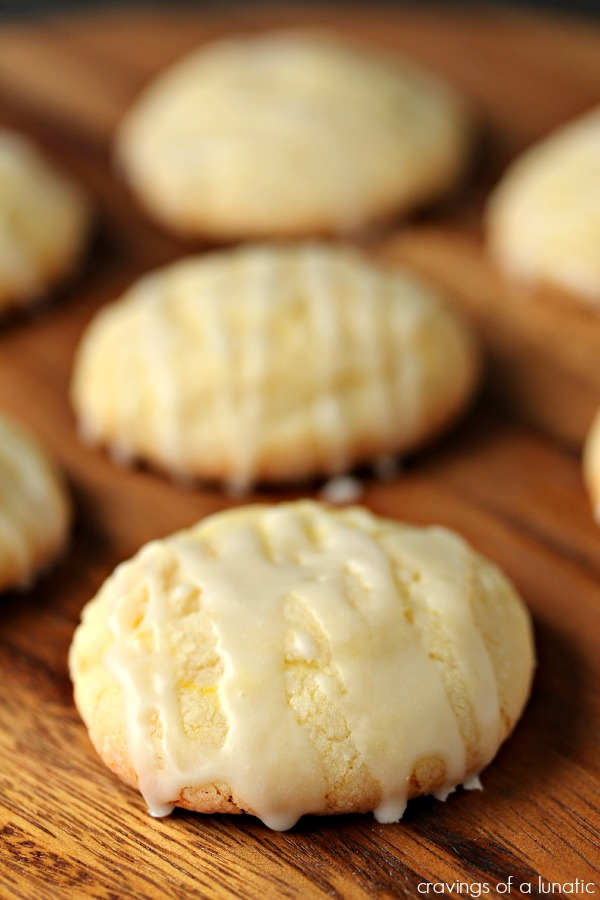 Glazed Lemon Sugar Cookies are so perfect for the holiday season and all year round!