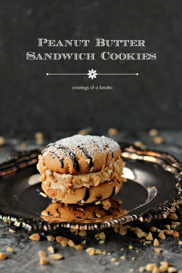 Peanut Butter Sandwich Cookies are perfect for the holidays!