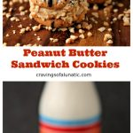Peanut Butter Sandwich Cookies are perfect for dunking in milk. They are also perfect for leaving out for Santa!!