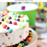 Trix Ice Cream Cake