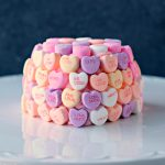 Conversation Heart Cakelette #‎LoveisintheBaking‬