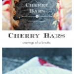 Cherry Bars aka Cherry Kuchen collage image