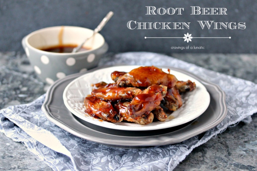 Root Beer Chicken Wings | cravingsofalunatic.com | Sweet and sticky Root Beer Chicken Wings are totally easy to make and absolutely delicious!