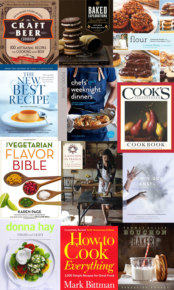 Giant Multi-Blogger Cookbook Giveaway