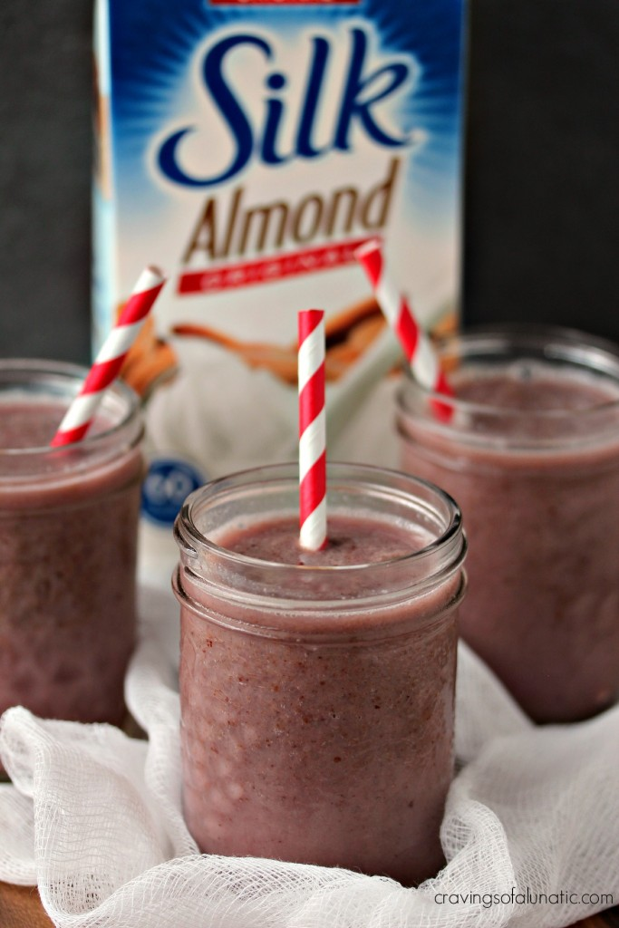 Cherry Almond Smoothie- Start your morning off right with a refreshing smoothie packed with cherries and almond milk.