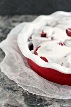 Red Velvet Sweet Rolls are the perfect breakfast, brunch or dessert recipe for any occasion!