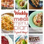 Weekly Meal Plan- Week #2