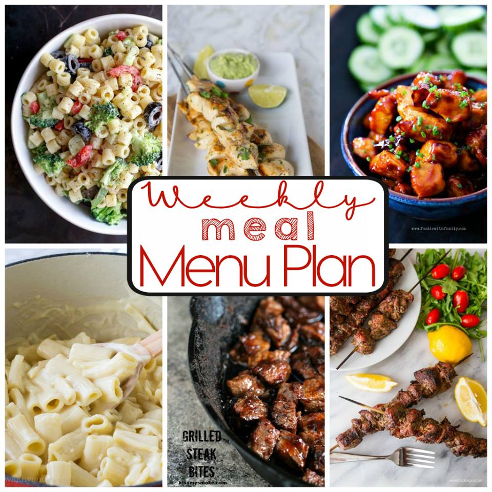 Weekly Meal Plan- Week #1
