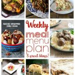 Weekly Meal Plan- Week 3