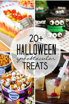 Halloween Recipe Round Up: Over 20 Halloween Treats