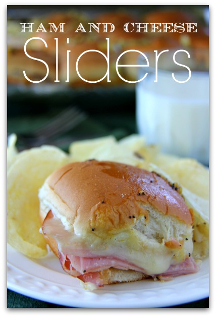 Ham and Cheese Sliders by Bakerette, featured on cravingsofalunatic.com for Tailgating Time Week 4