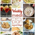 Weekly Meal Plan- Week 10
