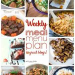 Weekly Meal Plan- Week 11