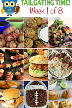 Tailgating Time Week 1 Recipes. 9 scrumptious tailgating recipes from 9 food-loving bloggers!