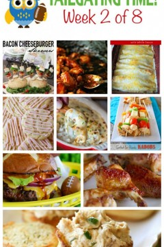 Tailgating Time: Week 2- 9 Fabulous Tailgating Recipes from 9 Food-loving Bloggers!