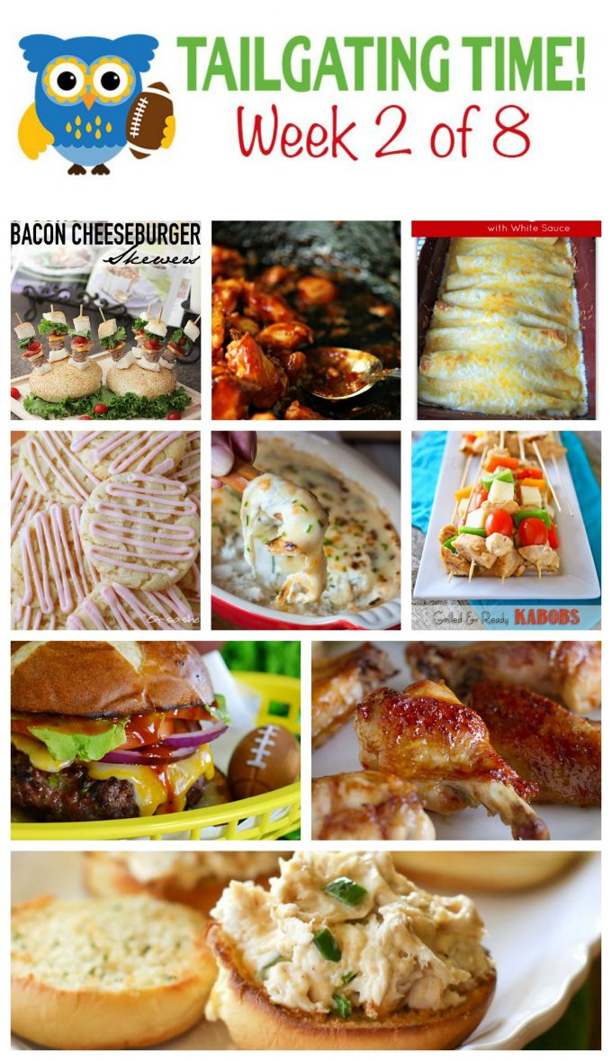 Tailgating Time Week 2. 9 Fabulous Tailgating Recipes from 9 Food-loving Bloggers!