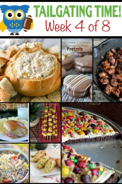 9 Bloggers, 8 Weeks, and TONS of Tailgating Recipes just in time for game season!