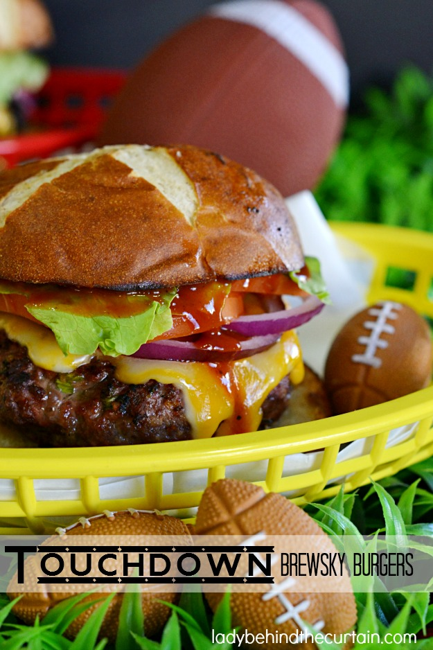 Touchdown Burgers by Lady Behind the Curtain