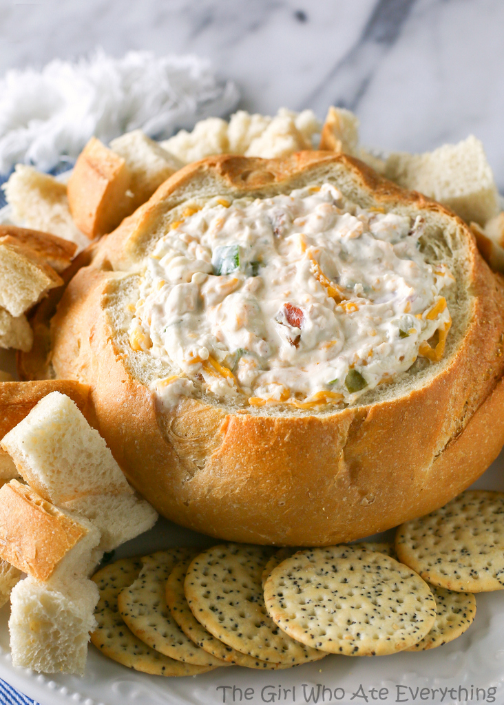 Warm Bacon Cheese Dip by The Girl Who Ate Everything, featured on cravingsofalunatic.com for Tailgating Time Week 4