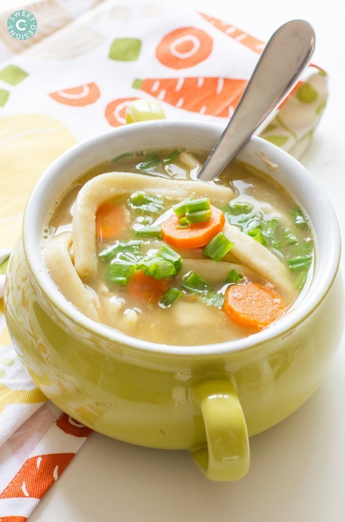 Semi Homemade Chicken Noodle Soup - Sweet C's Design
