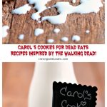 Carol's Cookies for our Dead Eats: Recipes Inspired by The Walking Dead! How to make perfectly chewy chocolate cookies, even during the apocalypse! #thewalkingdead #deadeats #recipes