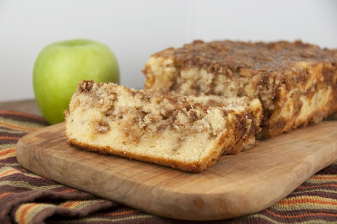 Cinnamon Apple Pie Bread - Wishes and Dishes