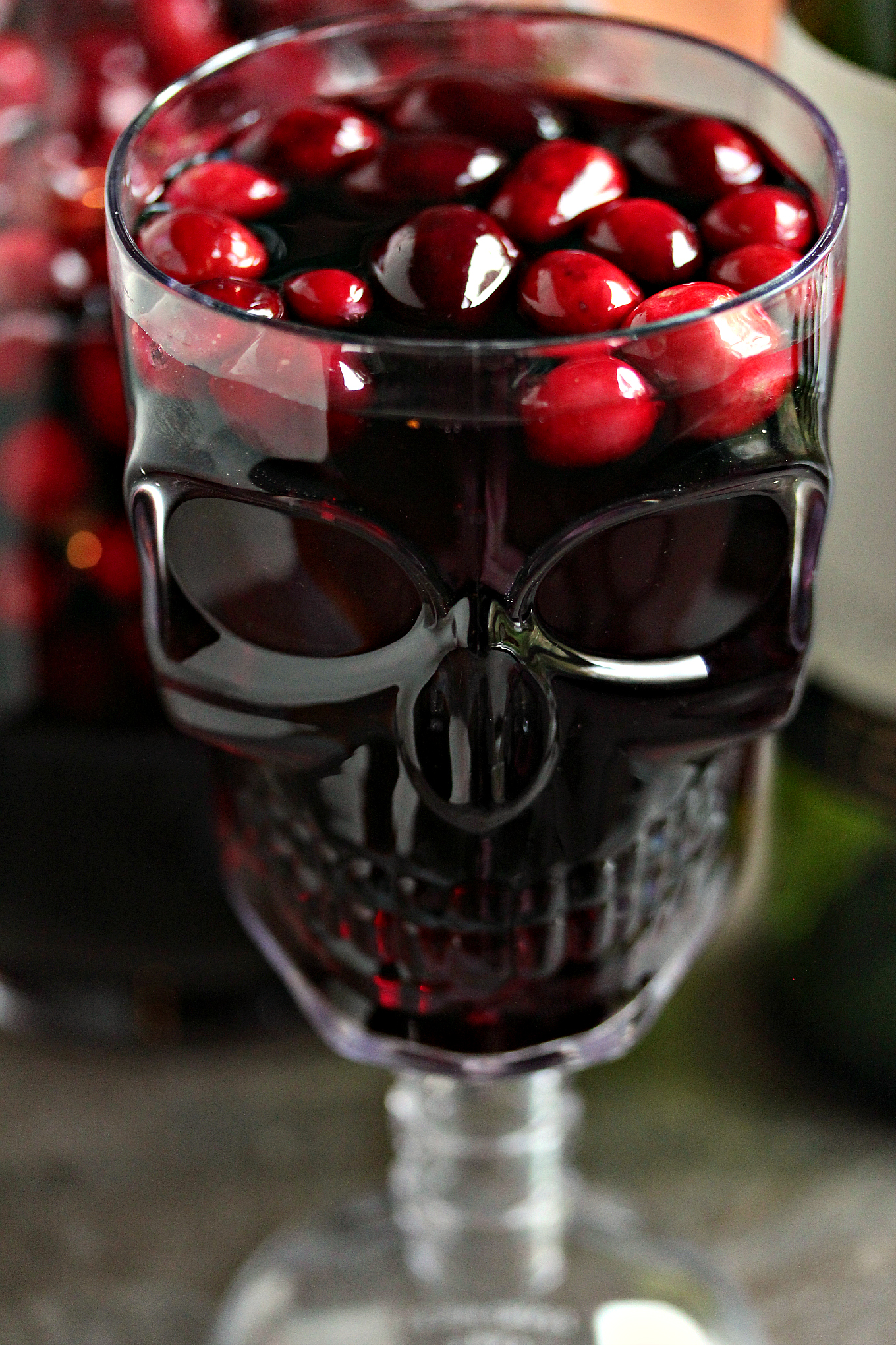 Cranberry Sangria aka Devil's Sangria- Cranberry Sangria is the perfect drink for Fall and Winter. Whip up a batch for Thanksgiving or Christmas. You can jazz it up for Halloween and call it Devil's Sangria! #sponsored #DiabloHalloween #contest