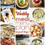 Weekly Meal Plan: Week 15