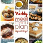 Weekly Meal Plan- Week 12