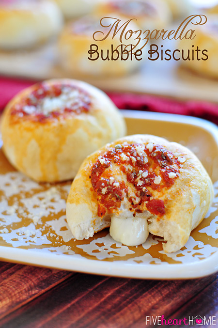 Mozzarella Bubble Biscuits by Or So She Says