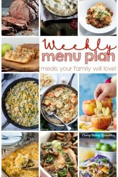 Weekly Meal Plan: Week 14