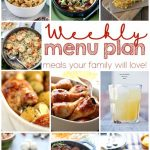 Weekly Meal Plan: Week 13
