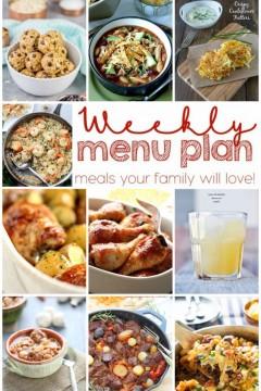 Weekly Meal Plan: Week 13