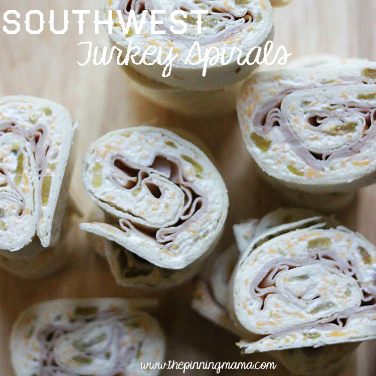Southwest Turkey Spirals by The Pinning Mama, featured on cravingsofalunatic.com for Week 5 of our Ultimate Tailgating Series!