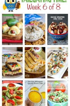 The Ultimate Tailgating Series: 9 Bloggers, 8 Weeks, TONS of Tailgating Recipe Inspiration!