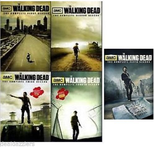 Dead Eats- Recipes Inspired by The Walking Dead! Giveaway for One Complete Set of The Walking Dead DVD's, Season 1 to 5!! Swing by cravingsofalunatic.com to enter.