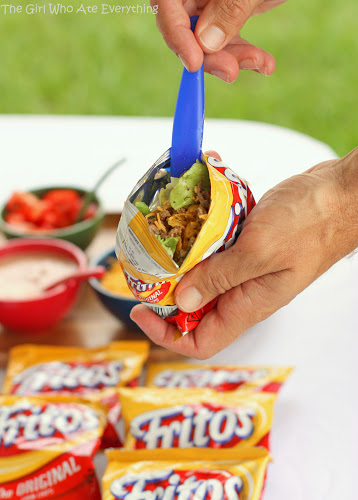 Walking Tacos by The Girl Who Ate Everything, featured on cravingsofalunatic.com for Week 5 of our Ultimate Tailgating Series!