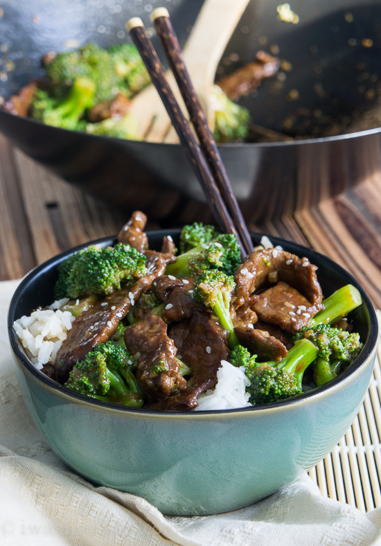 Beef with Broccoli by I Wash..You Dry, featured on cravingsofalunatic.com