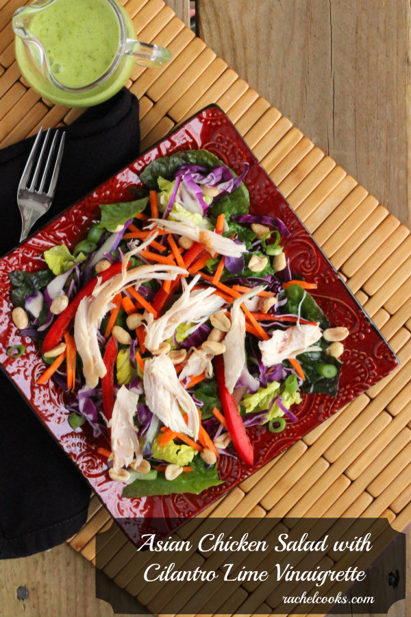 Asian Chicken Salad from Rachel Cooks
