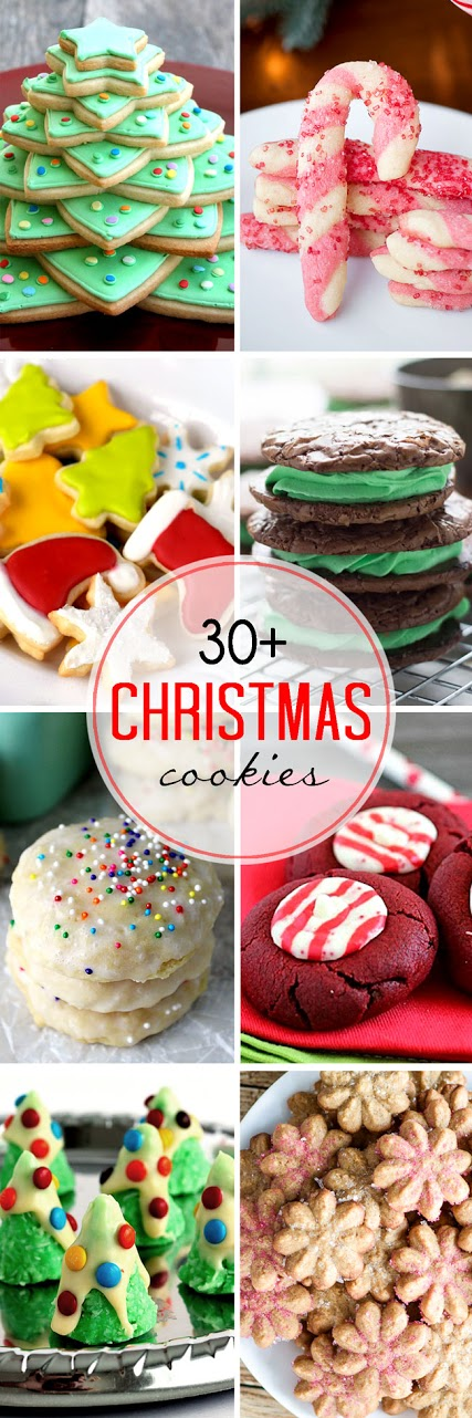 Christmas Cookie Round Up on cravingsofalunatic.com! Swing by to check out all the amazing cookie recipes and start planning your holiday baking now. (@CravingsLunatic)