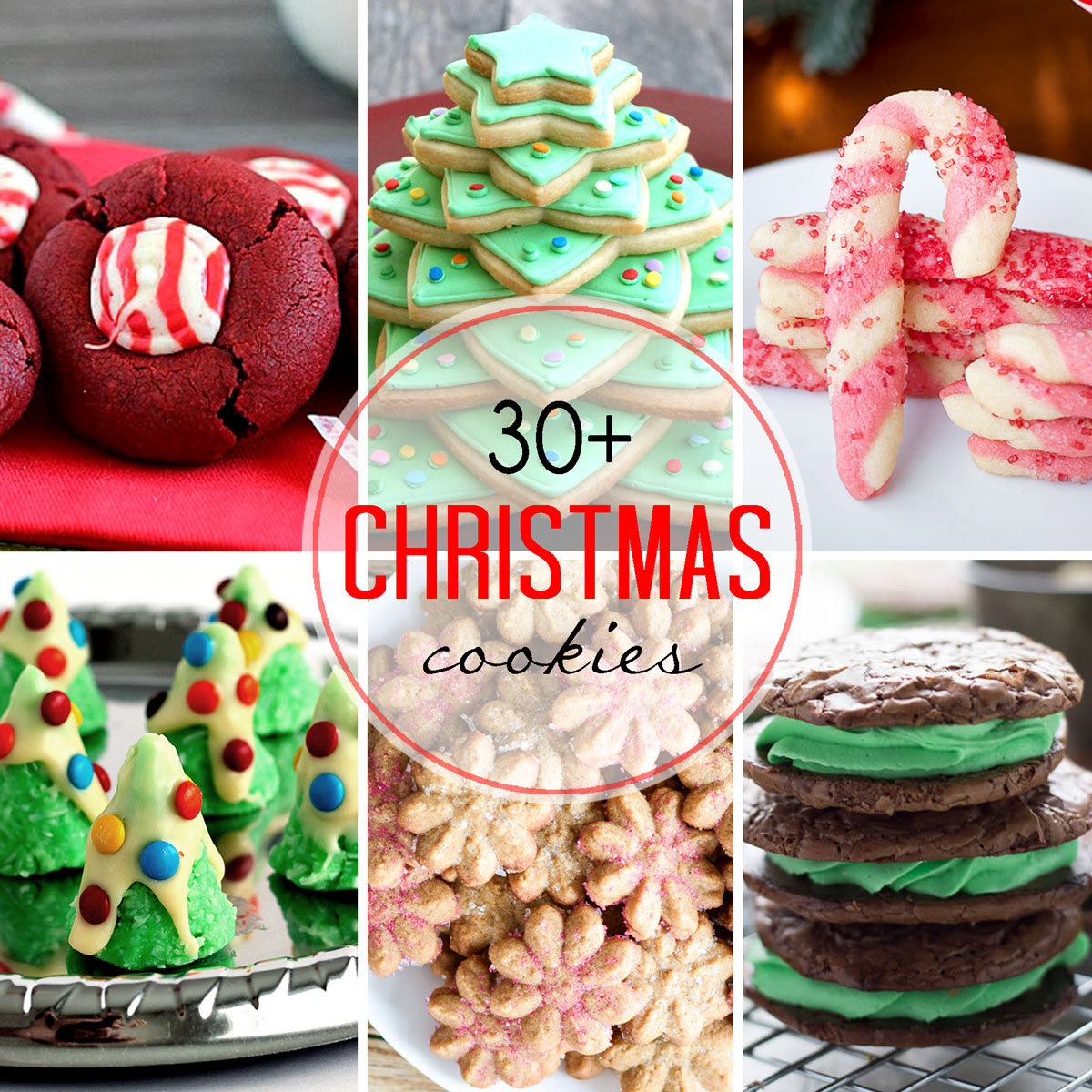 30+ Christmas Cookies Recipes for the Holidays | Cravings of a Lunatic
