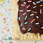 Easy Pop Tarts with Nutella Ganache
