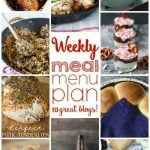 Weekly Meal Plan: Week 20