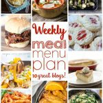 Weekly Meal Plan: Week 17