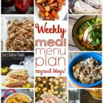 Weekly Meal Plan: Week 19