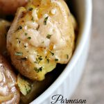 Parmesan Smashed Potatoes Recipe