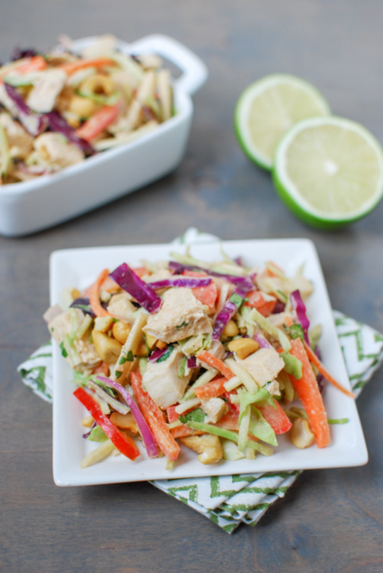 Thai Chicken Salad from The Lean Green Bean