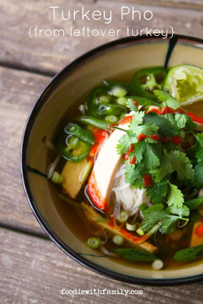 Turkey Pho – Foodie for Family, featured on cravingsofalunatic.com for Weekly Meal Plan #19 (@CravingsLunatic)