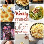 Weekly Meal Plan: Week 18